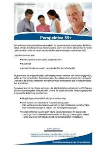 Personalberatung, Perspektive 55+, aeltere Arbeitnehmer, Personalabbau,