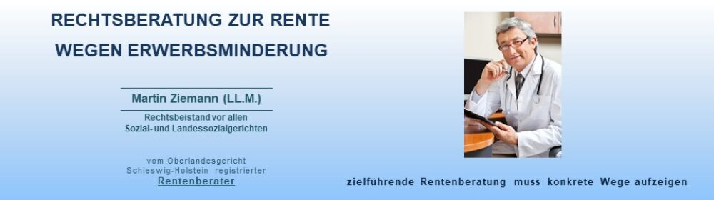 aerztliches Gutachten, Rente wegen Erwerbsminderung, Vertrauensarzt Deutsche Rentenversicherung, aerztlicher Gutachter