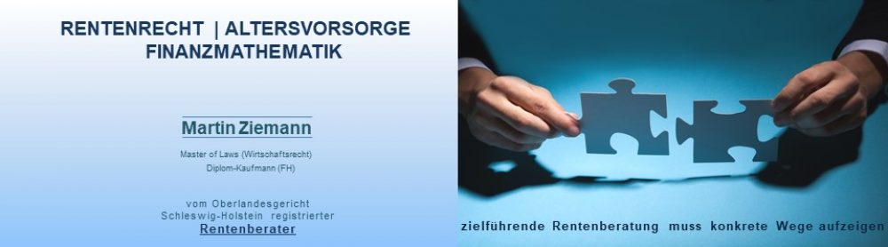 kostenlose, unabhängige Rentenberatung, Kiel, Lübeck, Plön. Eutin, Segeberg